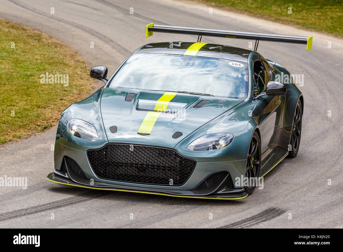 2017 Aston Martin Vantage Amr Pro At The 2017 Goodwood Festival Of