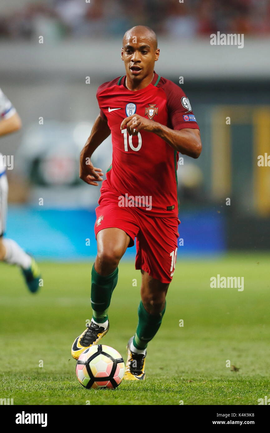 Porto Portugal 31st Aug 2017 Joao Mario POR Football Soccer