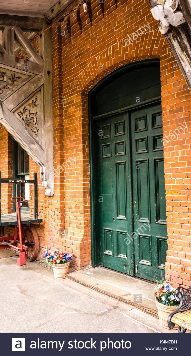 View picture of general henry knox museum montpelier thomaston - The Railroad Museum Of New England _ Thomaston Connecticut Usa Stock Image