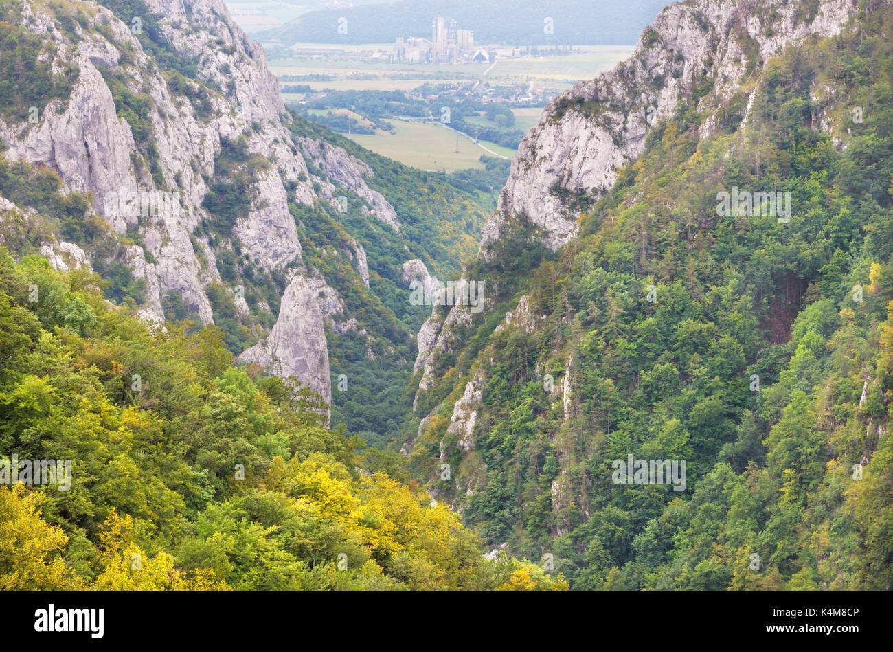Roe valley stock photos roe valley stock images alamy slovakia zadielska valley in national park slovensky kras stock image ccuart Choice Image