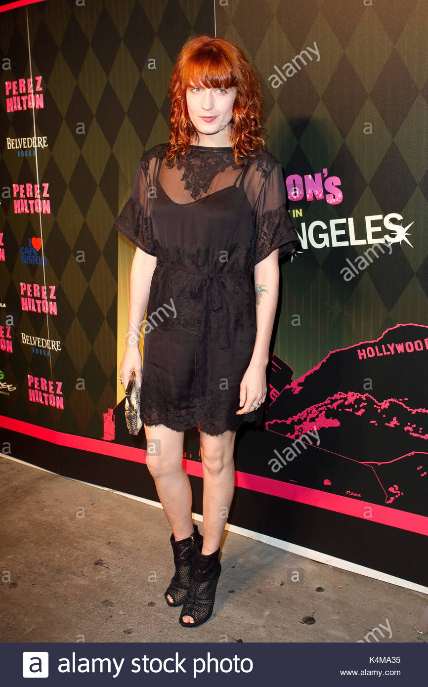 Florence Welch. Perez Hilton s  One Night In LA  presented by SWAGG on  September c010f0bf4