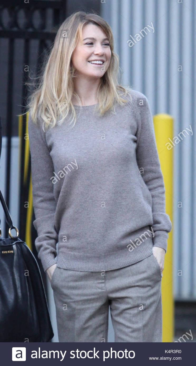 Ellen Pompeo. Ellen Pompeo of Grey\'s Anatomy at the CTV building in ...