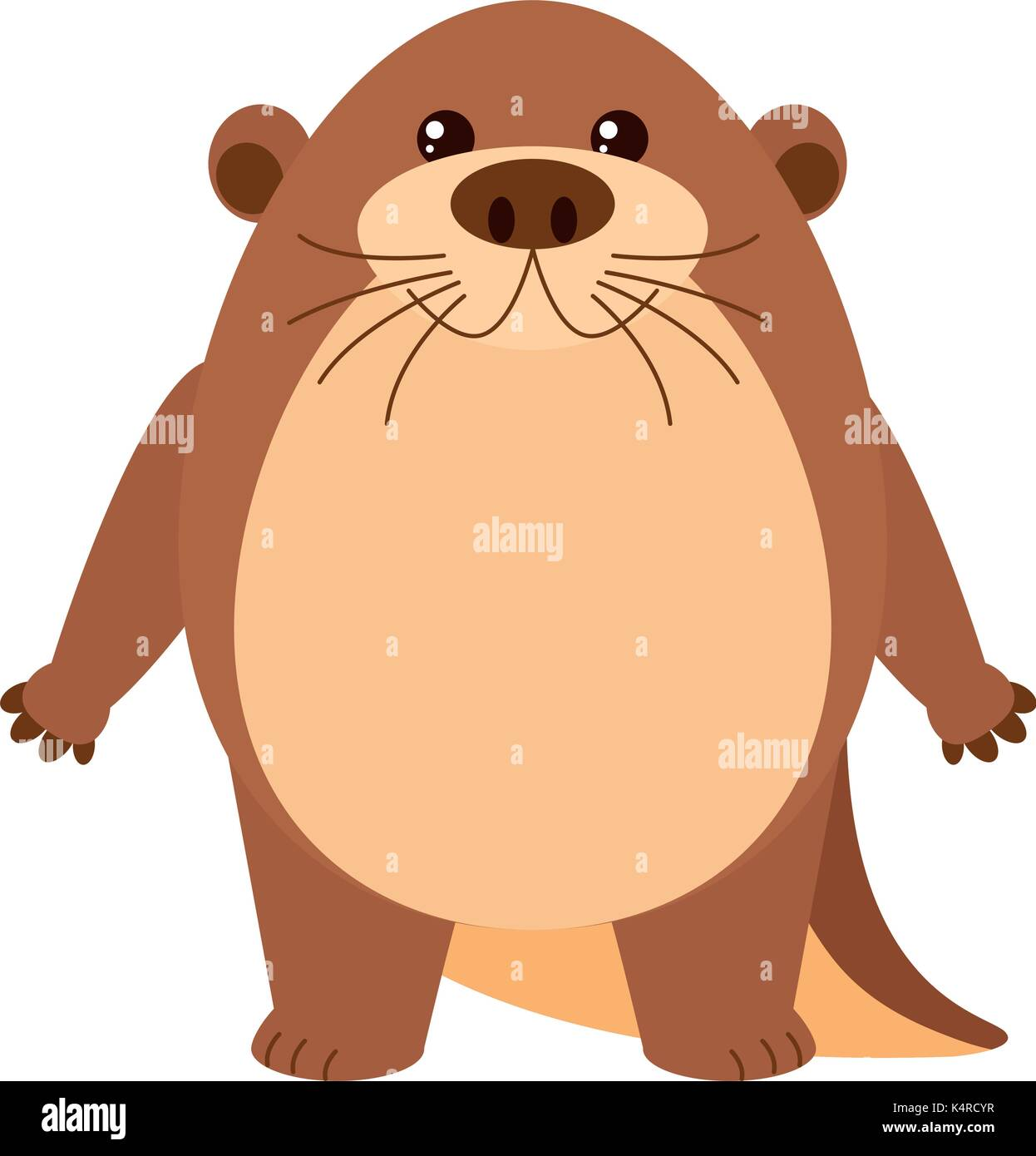 beaver stock vector images alamy
