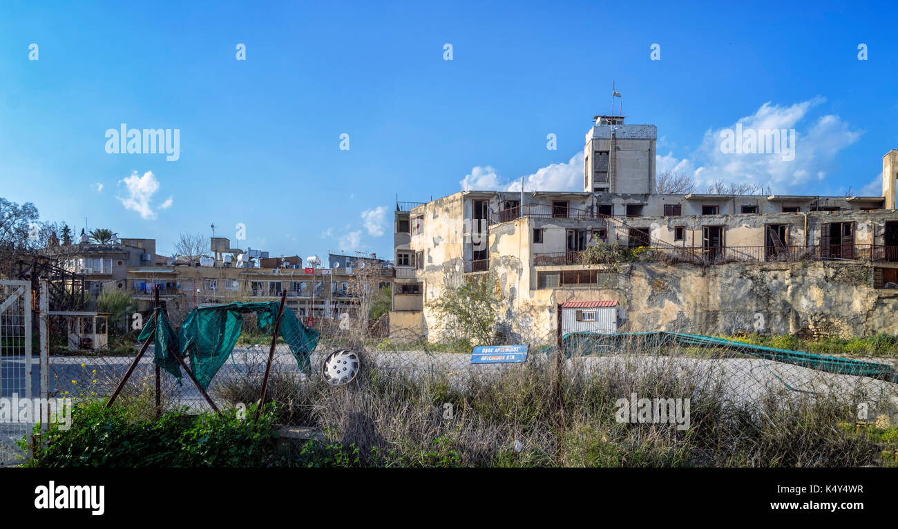 buffer zone Reuters photographer neil hall travelled to cyprus to document the un buffer zone that was established 40 years ago.