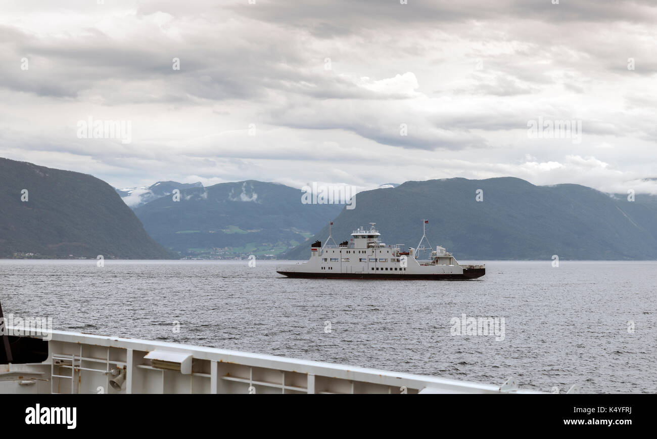 Car ferries sognefjord norway - The Ferry Between Hella En Dragsvik Or Balestrand This Ferry Is The Fastest Route Over
