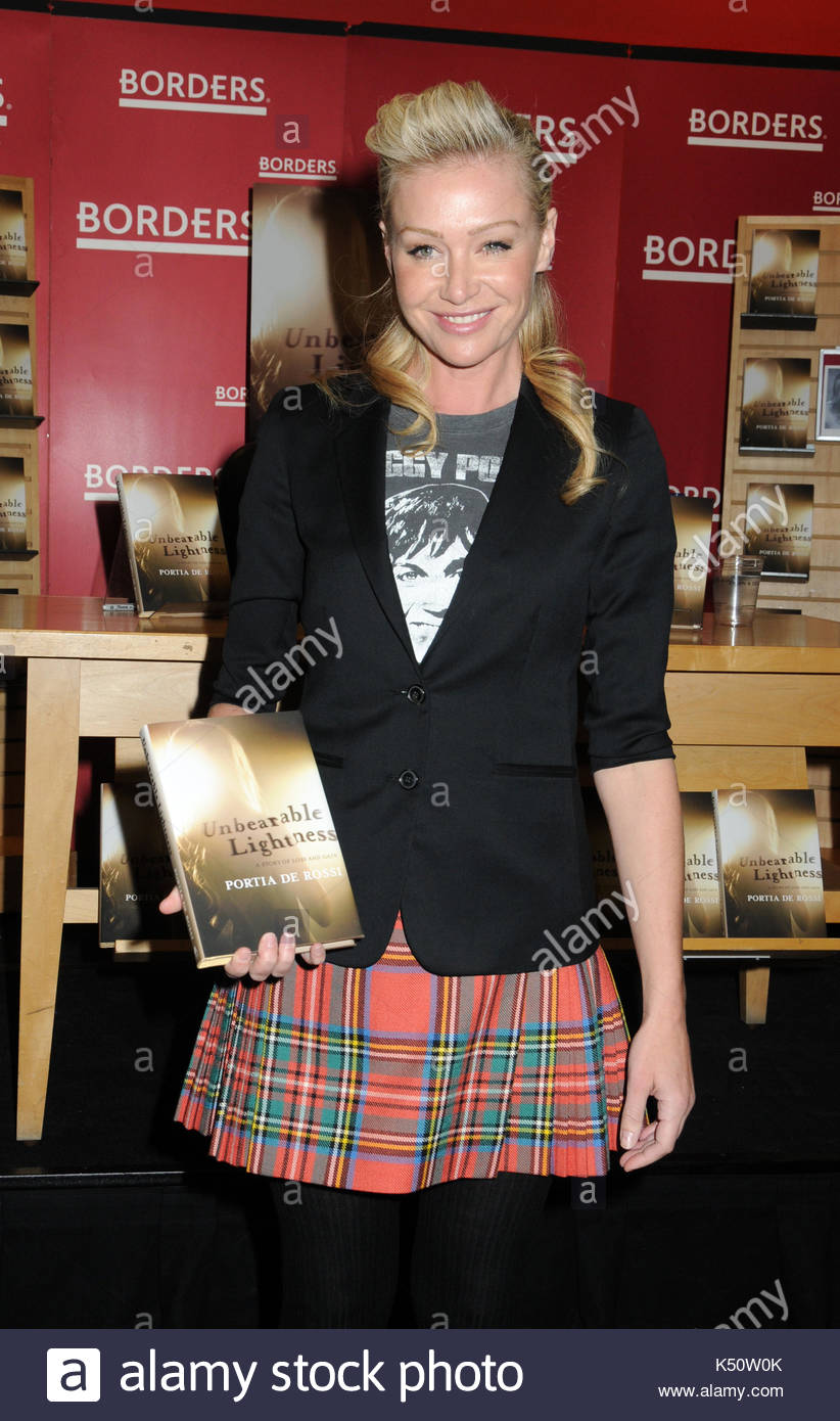 Good Portia De Rossi. Portia De Rossi Book Signing At Borders For