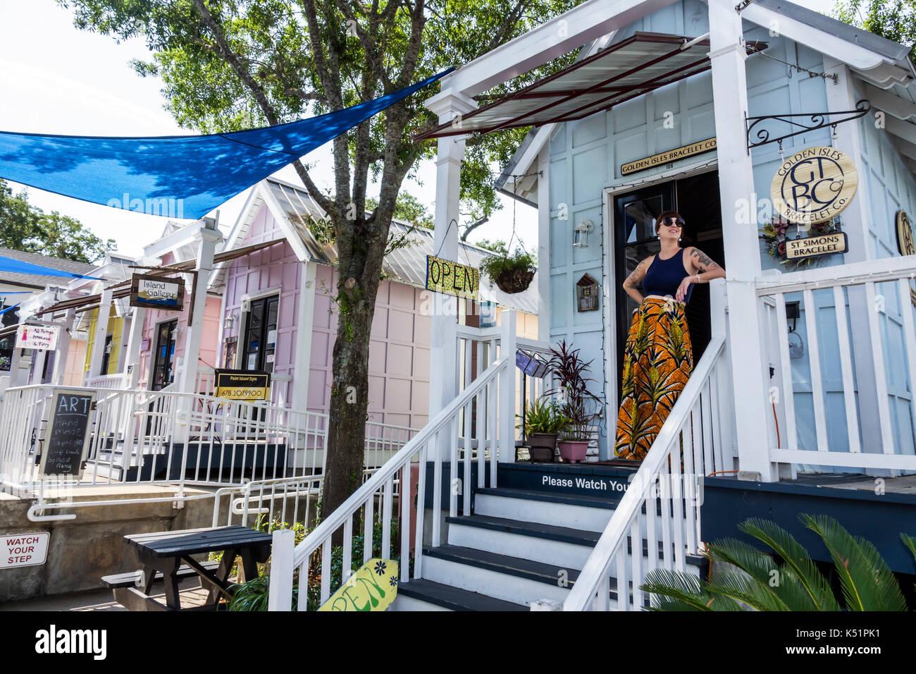 St Simons Island Pier Village Shops