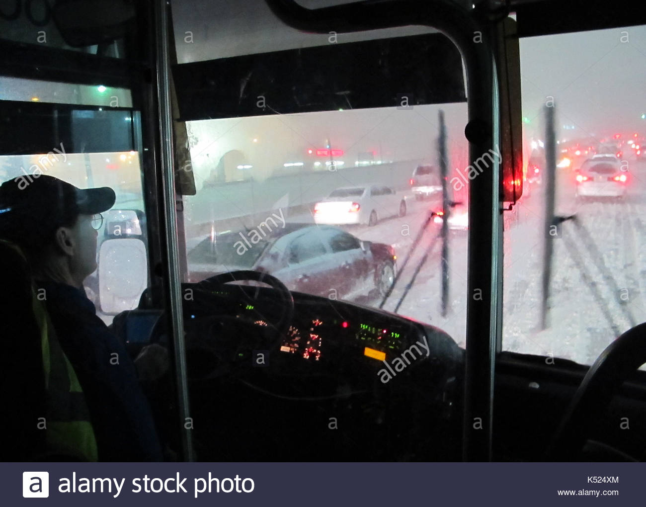 Christmas blizzard in NYC. This is a first hand passenger look at ...