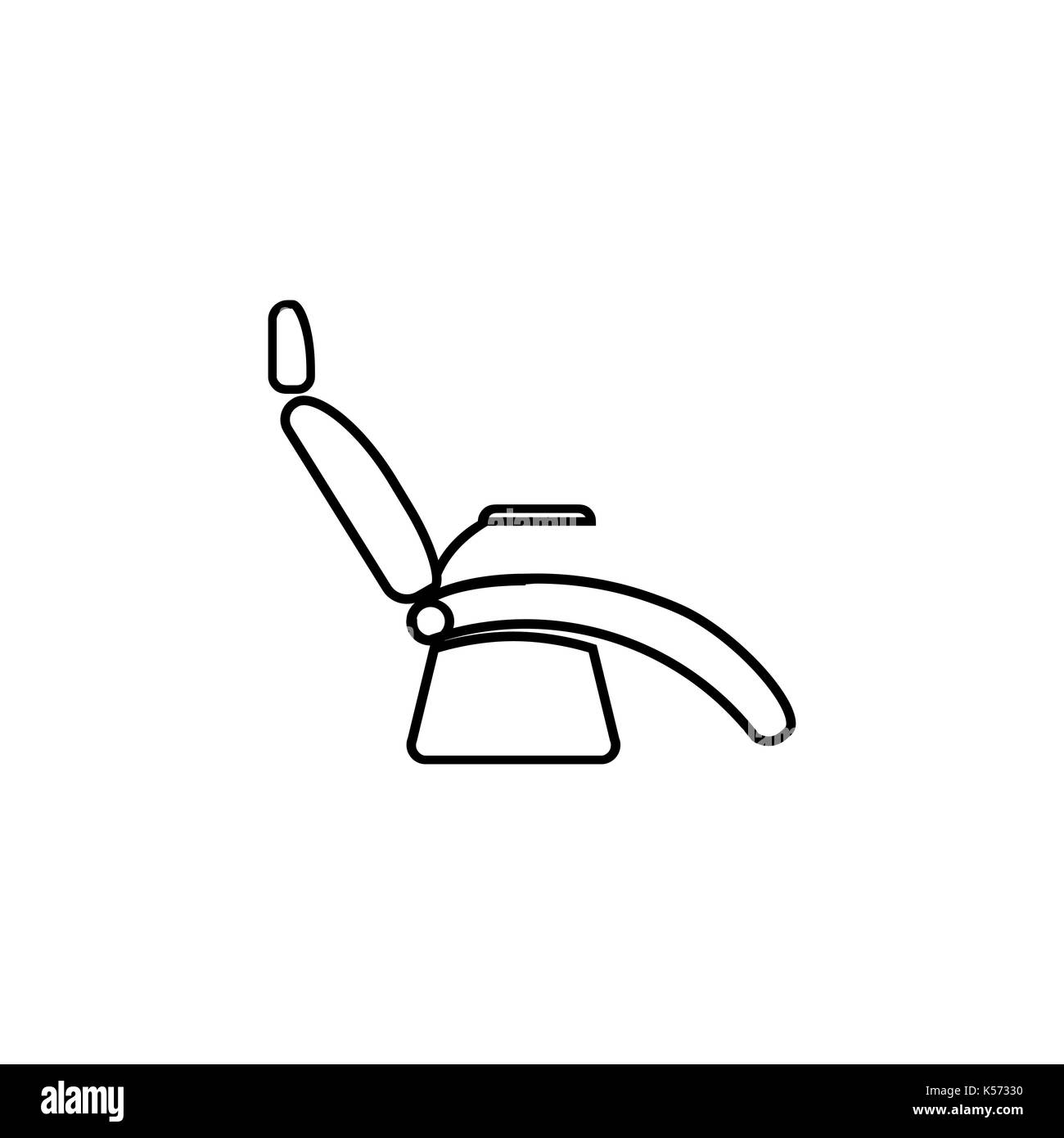Medical Armchair Icons Figure Thin Linear Signs For Websites, Infographic,  Mobile App. Medical Equipment