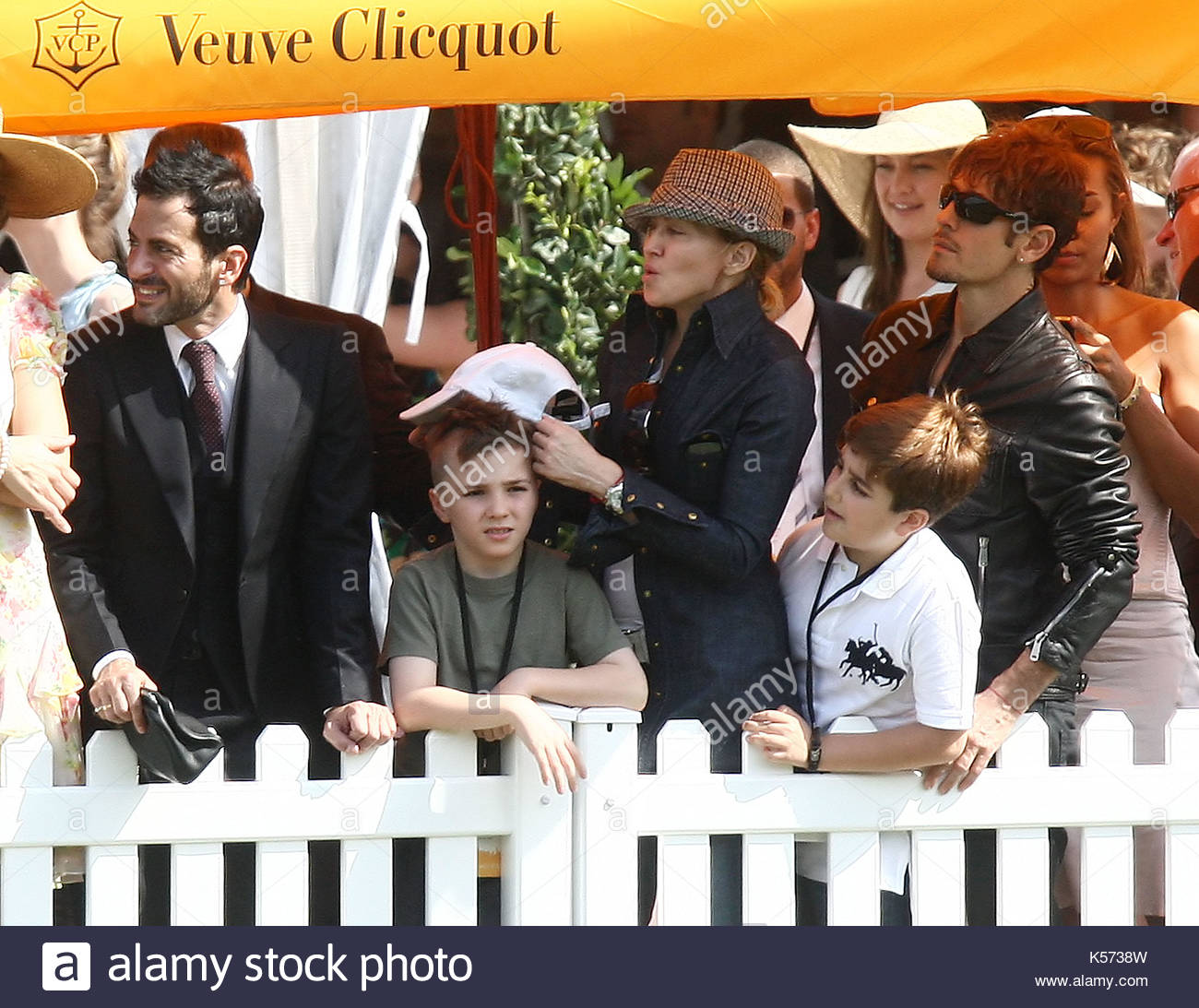 aa22c70d76e73 Marc Jacobs, Madonna, Rocco, Steven Klein and David Banda. Madonna takes  Jesus, David Banda, and Rocco to the 2nd Annual Veuve Clicquot Manhattan  Polo ...