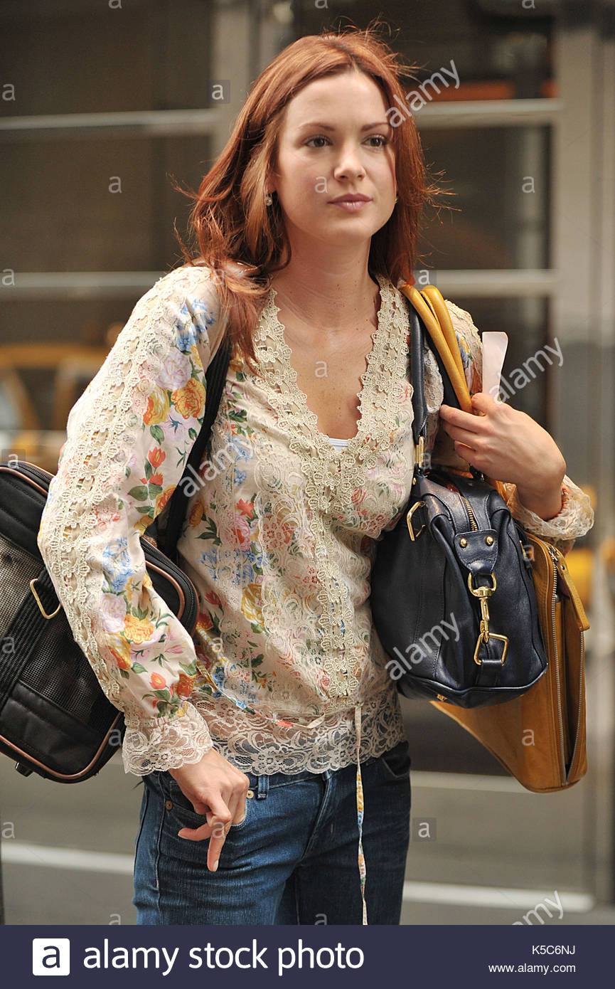 Danneel harris actress danneel harris of the hit tv series one danneel harris actress danneel harris of the hit tv series one tree hill seen carrying her puppy outside the london hotel in midtown manhattan thecheapjerseys Choice Image