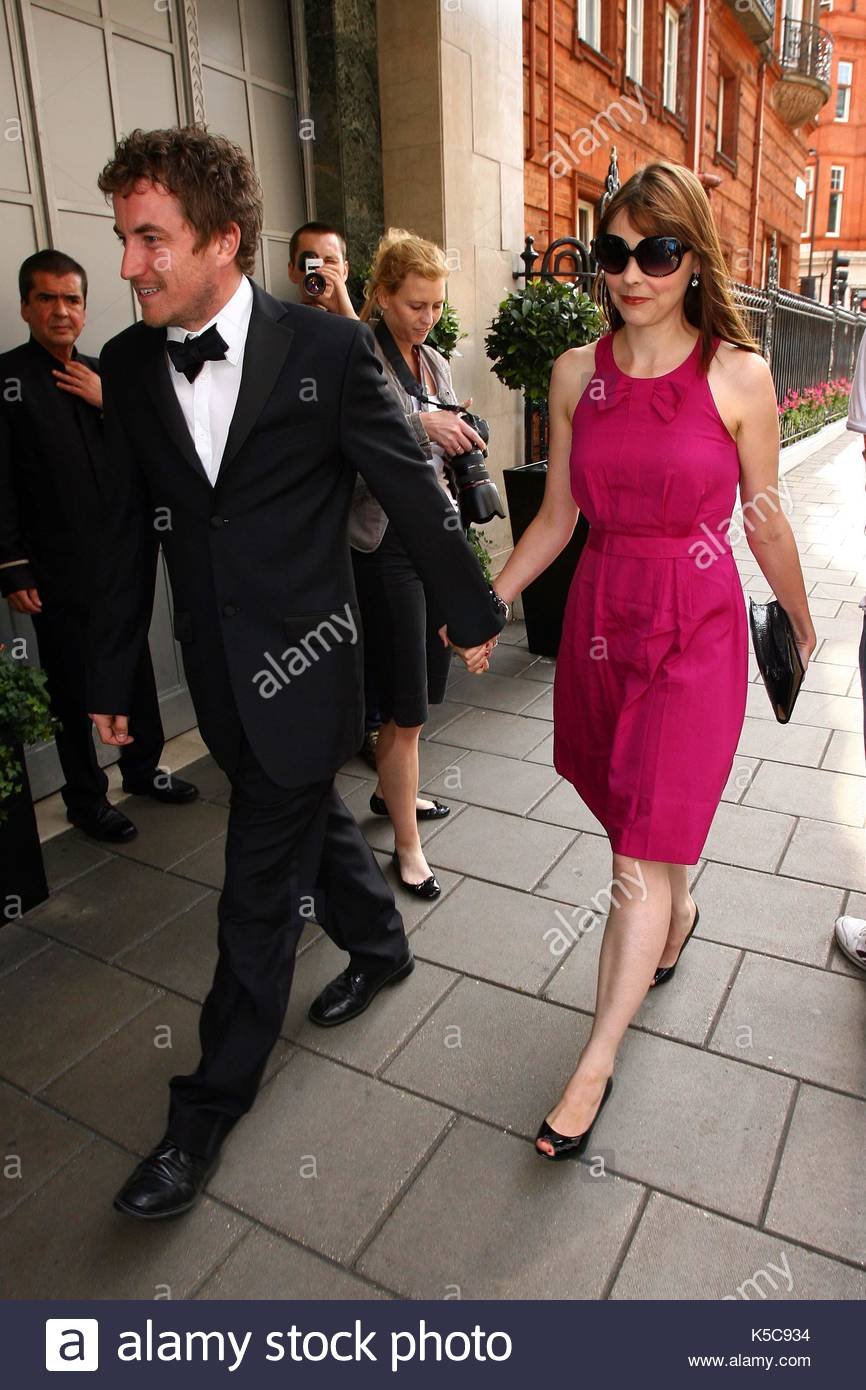 Kate ford the groom alex bourne arriving at the claridges hotel where he is getting married today to rachel stevens the celebs turn out for the wedding