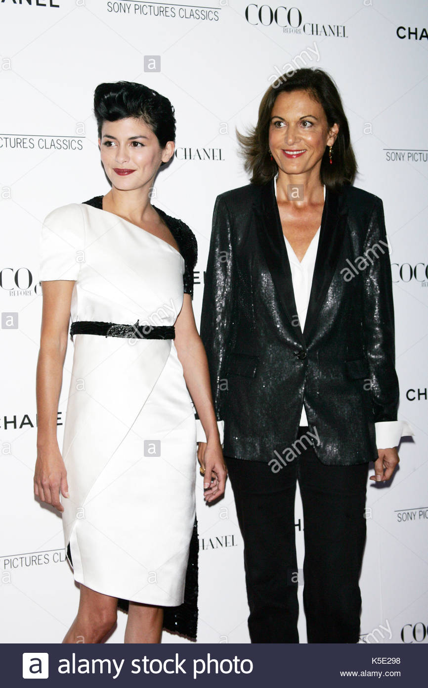 Audrey Tautou at Coco Before ChanelPremiere
