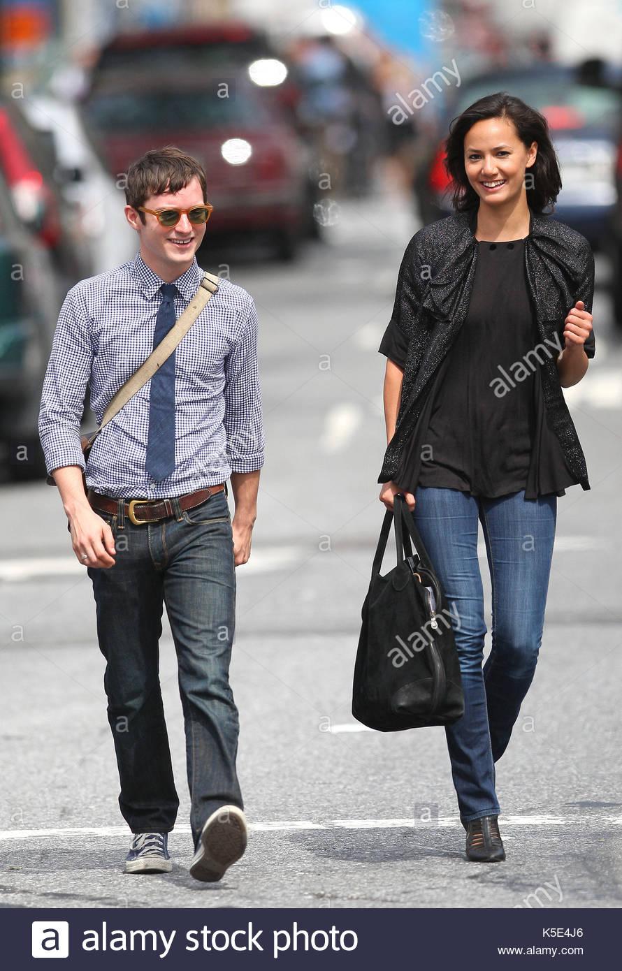 Elijah Wood and Pamela...