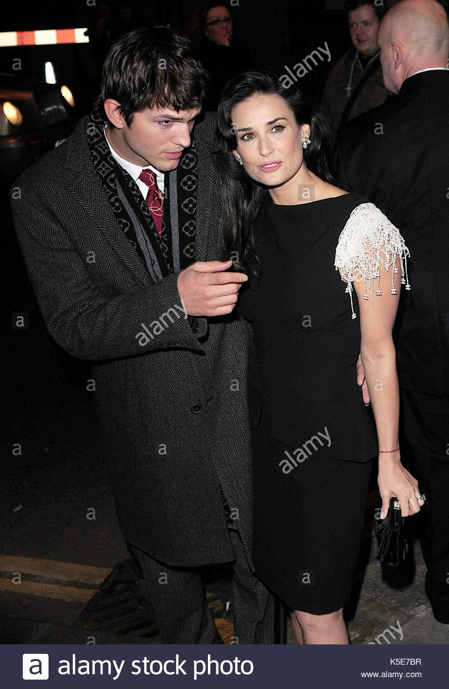 ashton kutcher and demi moore celebrities attend the uk charity