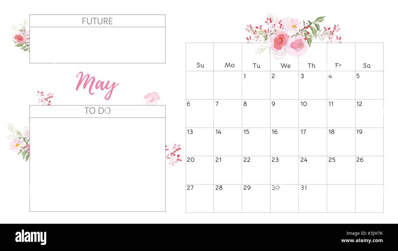 2018 Calendar Vintage : Calendar stock photos images