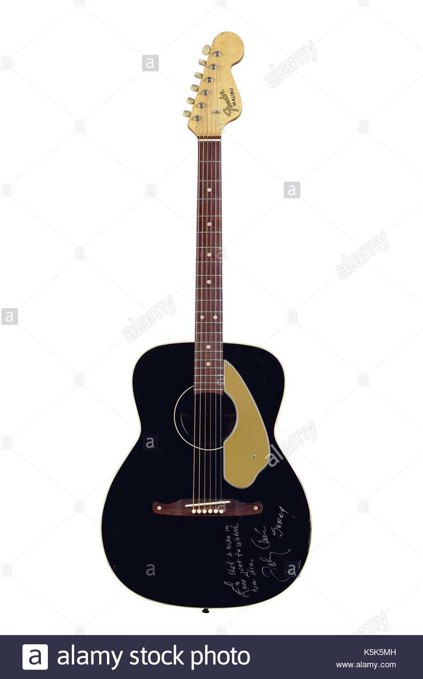 johnny cash guitar stock photos johnny cash guitar stock images alamy. Black Bedroom Furniture Sets. Home Design Ideas