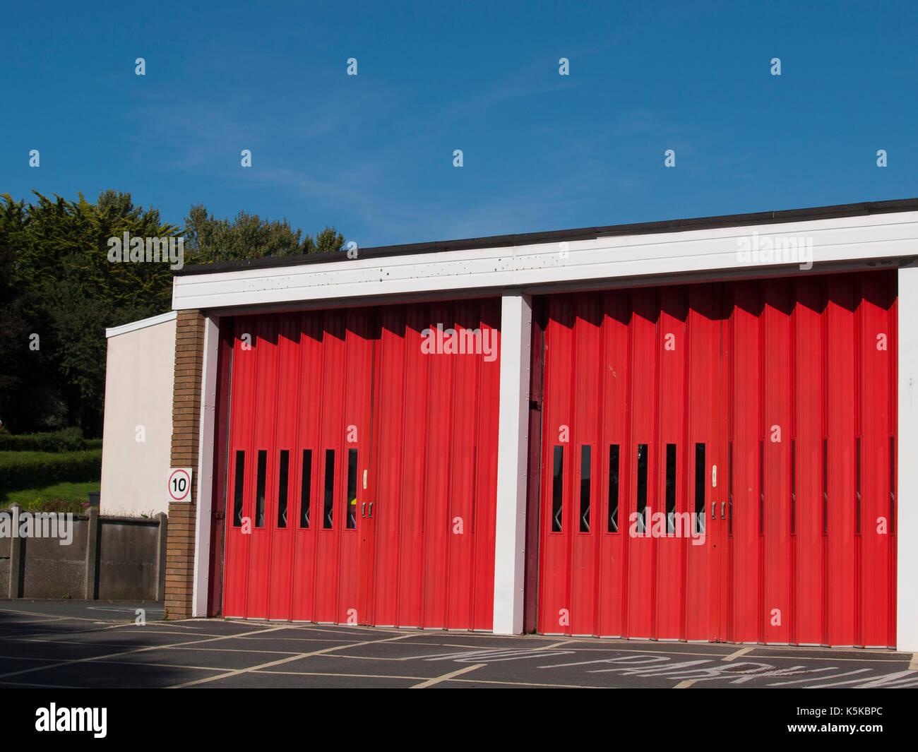 Barnstaple Fire Station Barnstaple Devon UK & Barnstaple Fire Station Barnstaple Devon UK Stock Photo ...