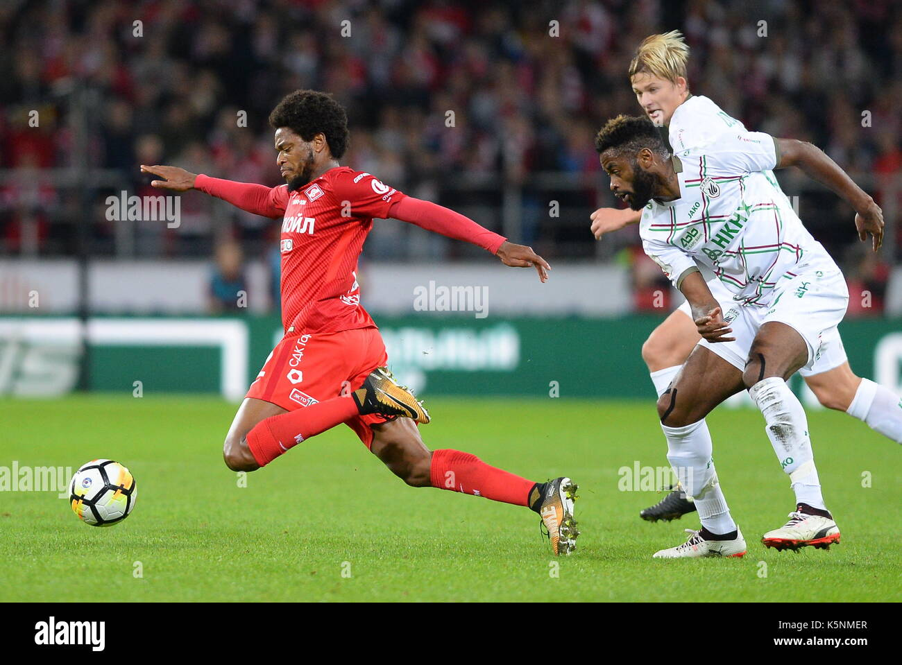 Moscow Russia 9th Sep 2017 Spartak Moscow s Luiz Adriano L