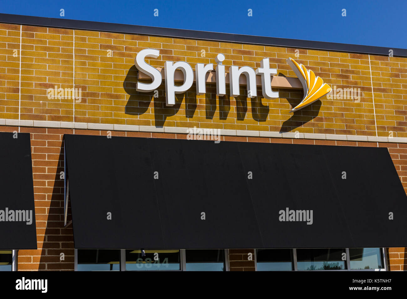 Sprint nextel stock photos sprint nextel stock images alamy zionsville circa september 2017 sprint retail wireless store sprint is a subsidiary of biocorpaavc Image collections