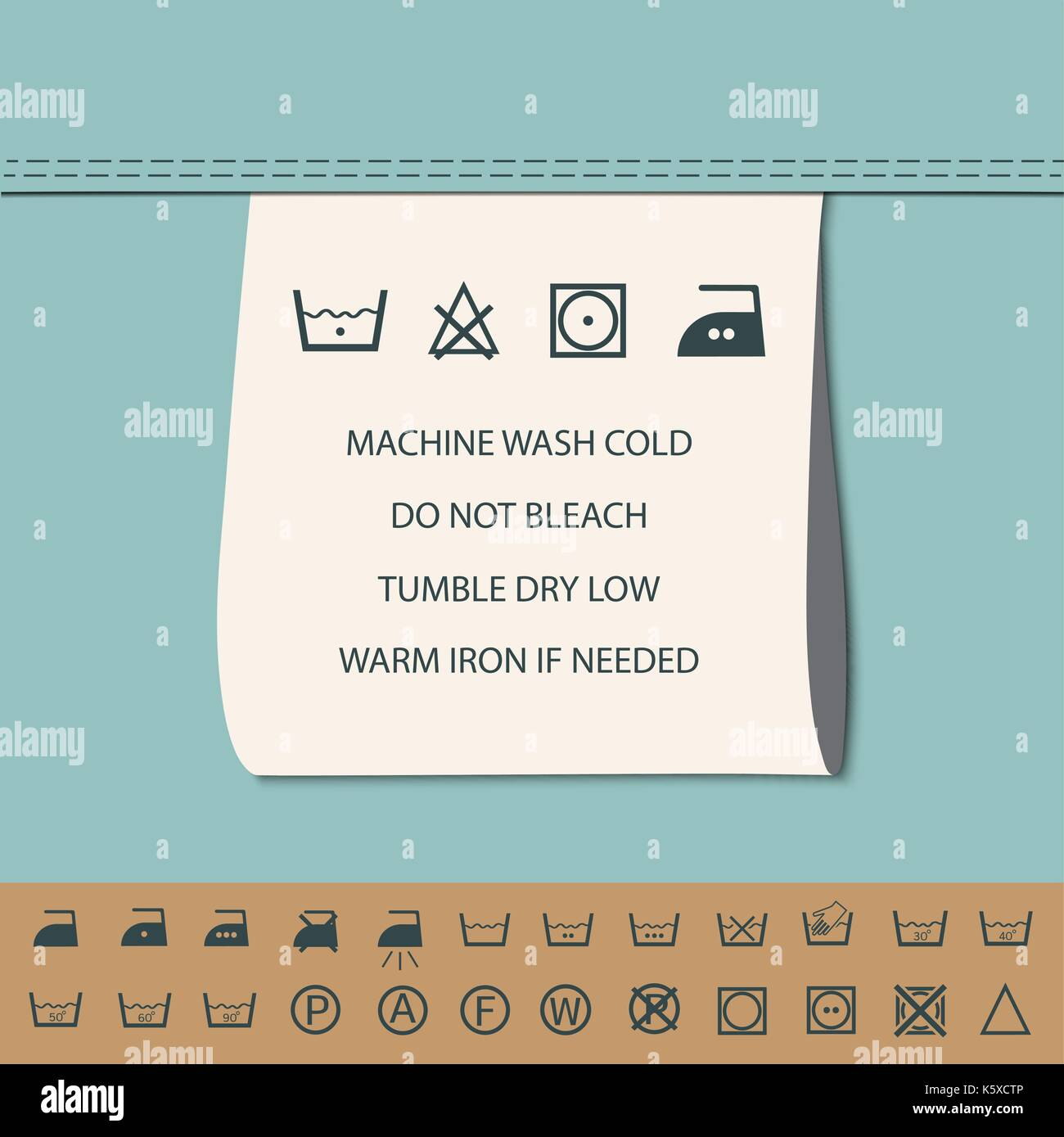 Instruction label stock photos instruction label stock images clothing label and washing symbol stock image biocorpaavc