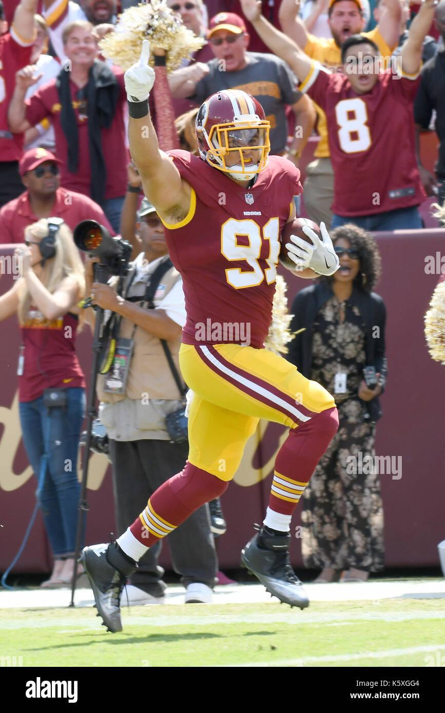 Washington Redskins outside linebacker Ryan Kerrigan 91