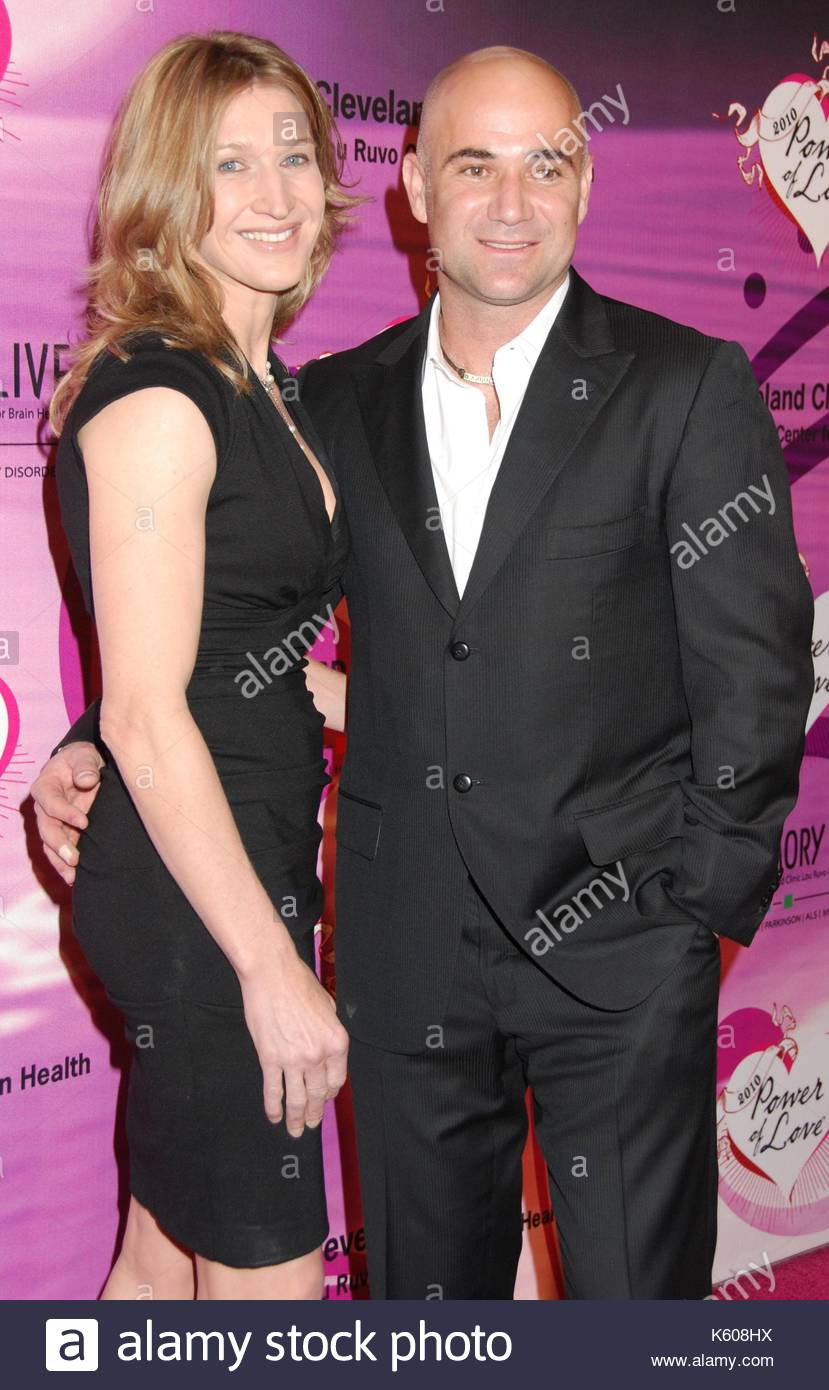 Steffi Graf Amd Andre Agassi Keep Memory Alives Power Of Love Gala To Benefit The