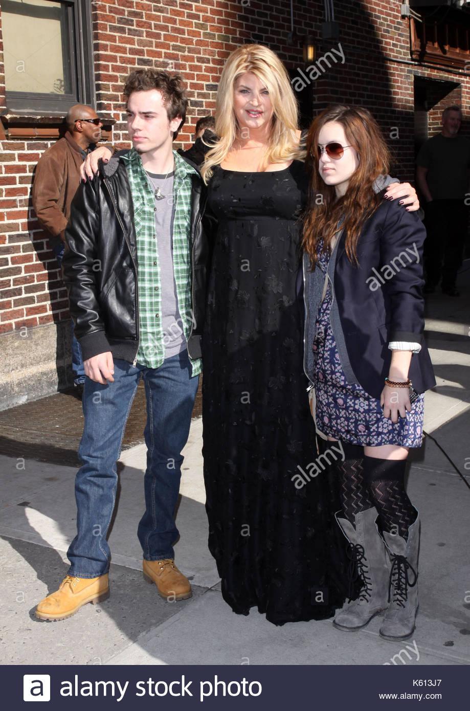 Kirstie Alley, Kirstie Alley and children William True ...