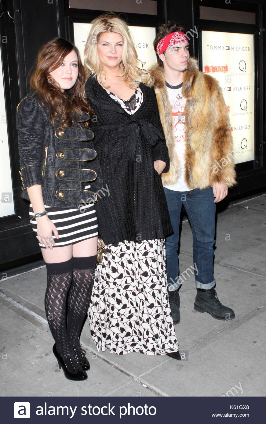 Kirstie Alley with Lillie Price and William True Stevenson ...