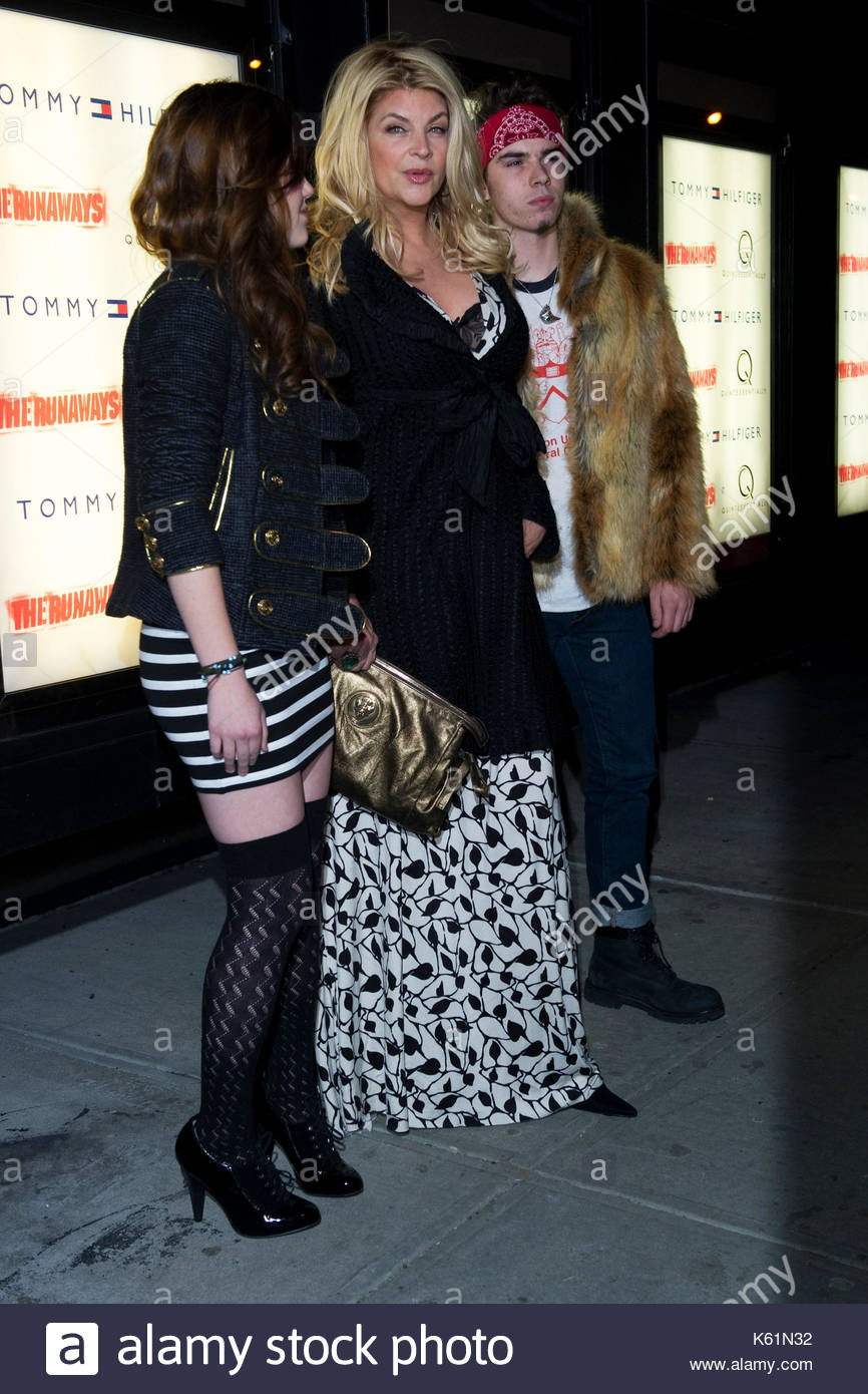 Kirstie Alley with William True Stevenson (son) and Lillie ...