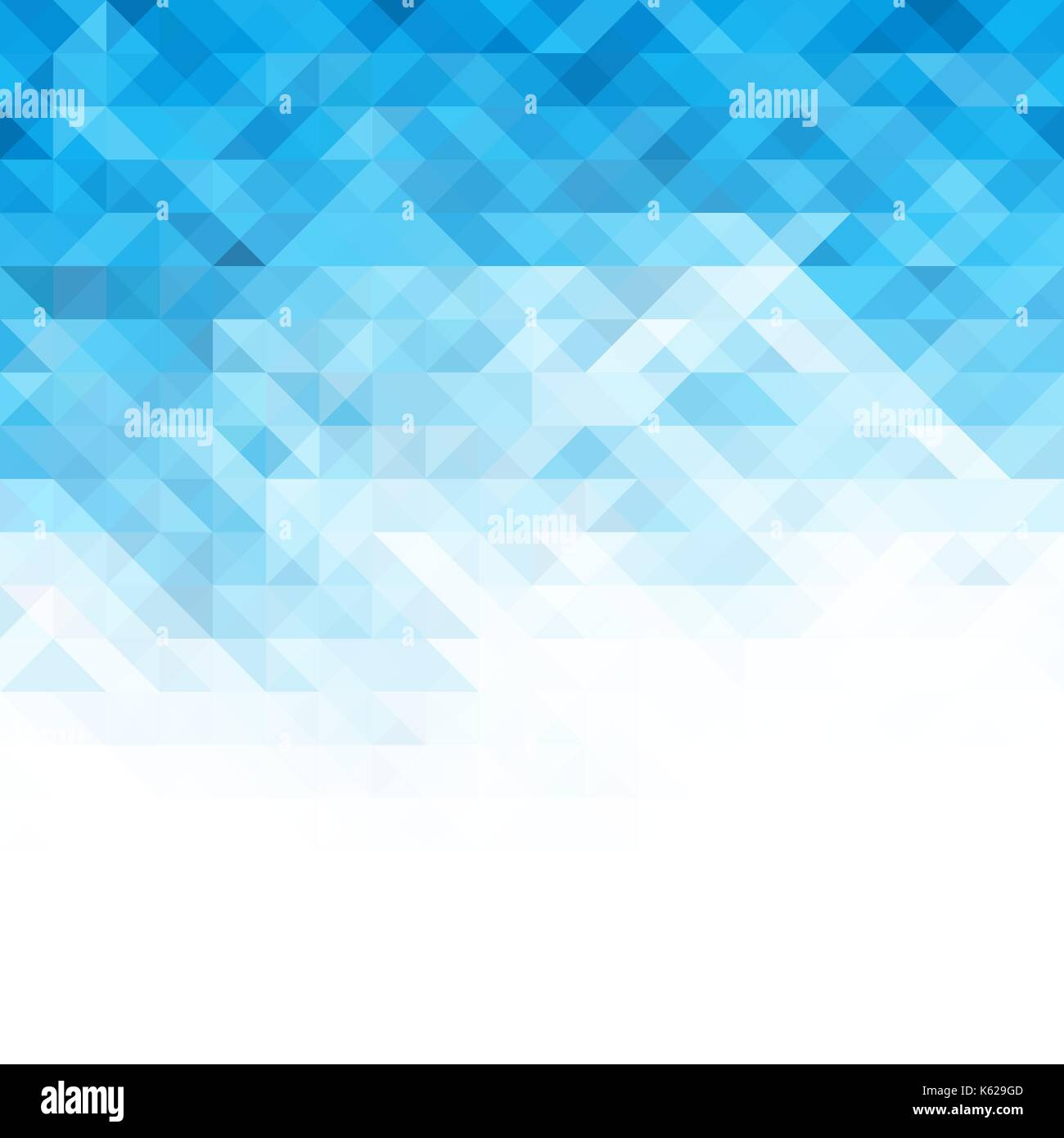 vector abstract geometric background. blue mosaic template