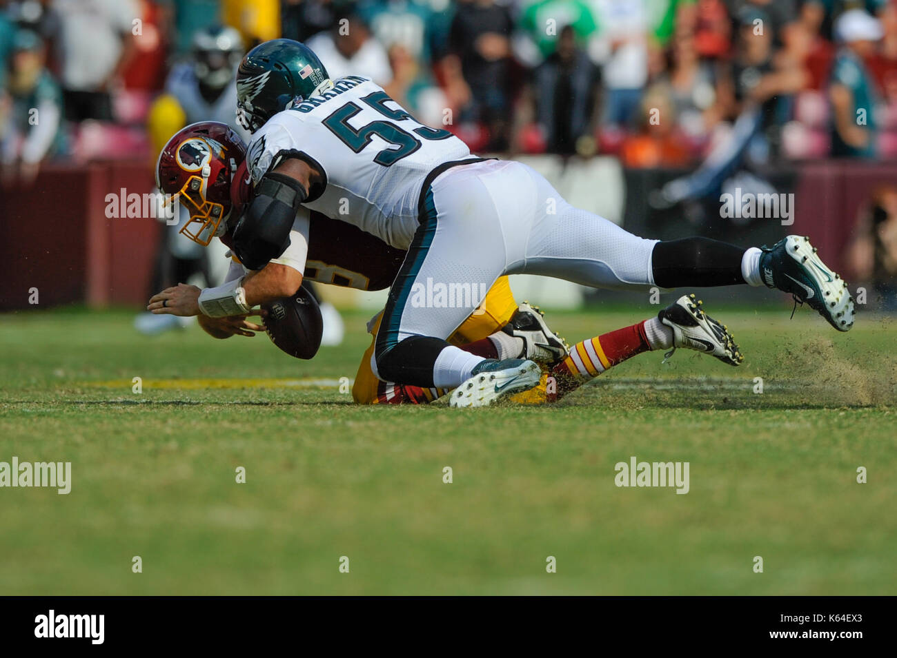 SEP 10 2017 Philadelphia Eagles defensive end Brandon Graham 55