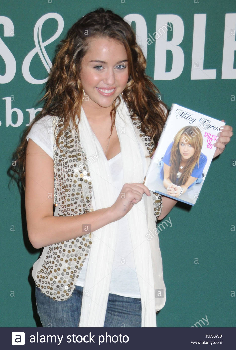 Miley cyrus actress and singer miley cyrus daughter of billy ray miley cyrus actress and singer miley cyrus daughter of billy ray introduces her first ever book entitled miles to go at a meet and greet for fans m4hsunfo
