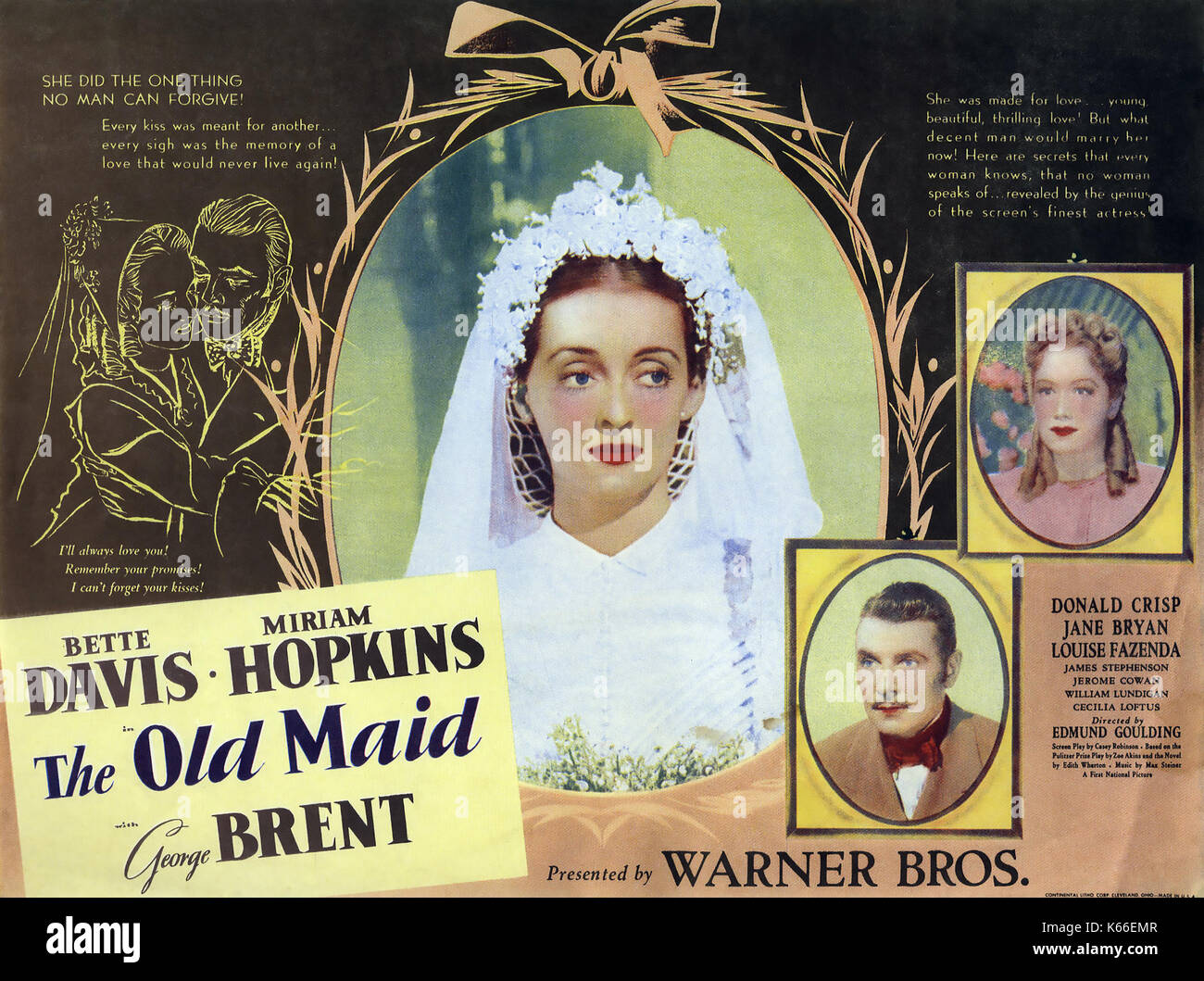 Image result for the old maid 1939 POSTER
