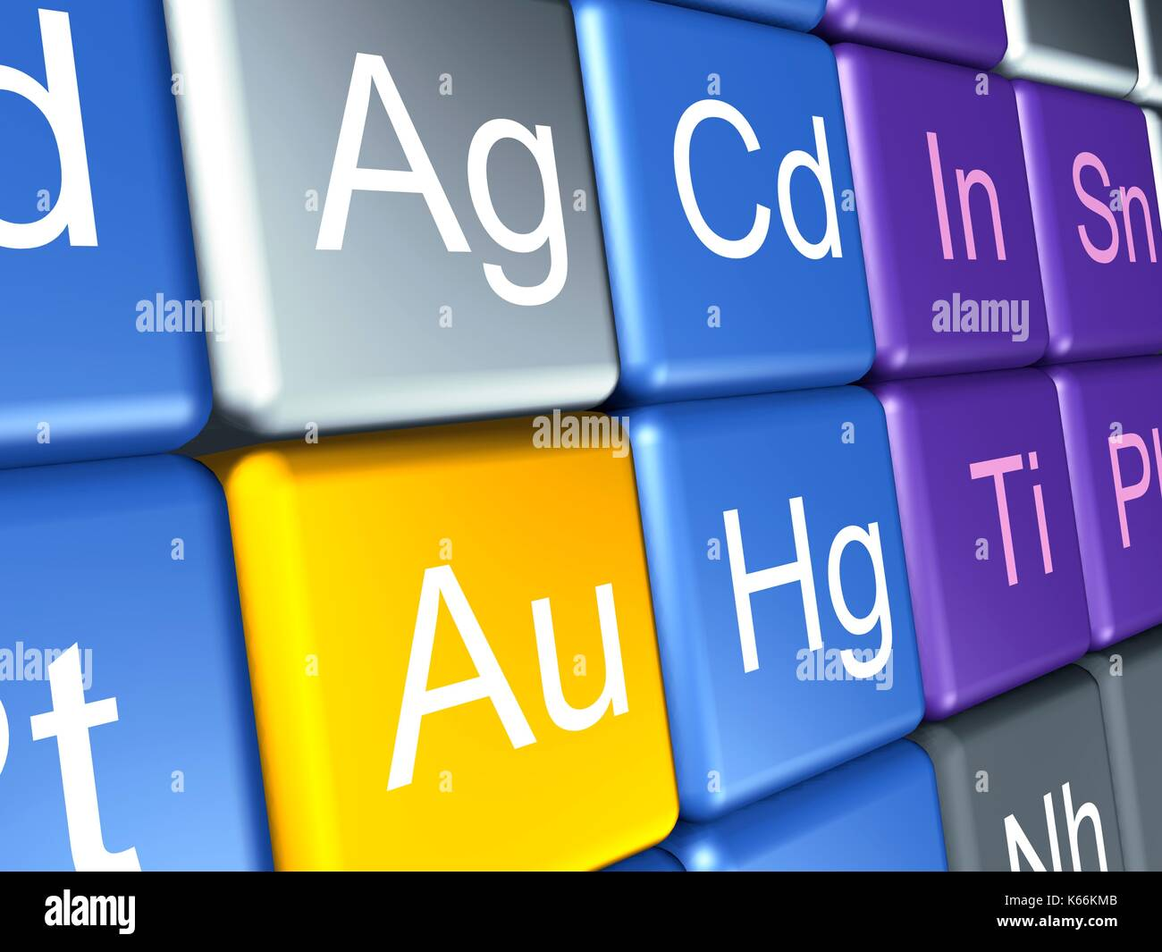 Periodic element table stock photos periodic element table stock computer artwork of a close up of the periodic table focussed on the chemical elements gamestrikefo Image collections