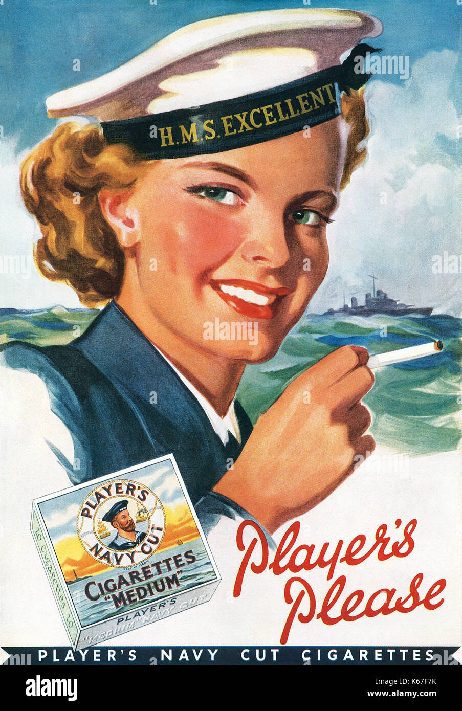 Players Navy Cut Cigarettes Stock Photos & Players Navy ...