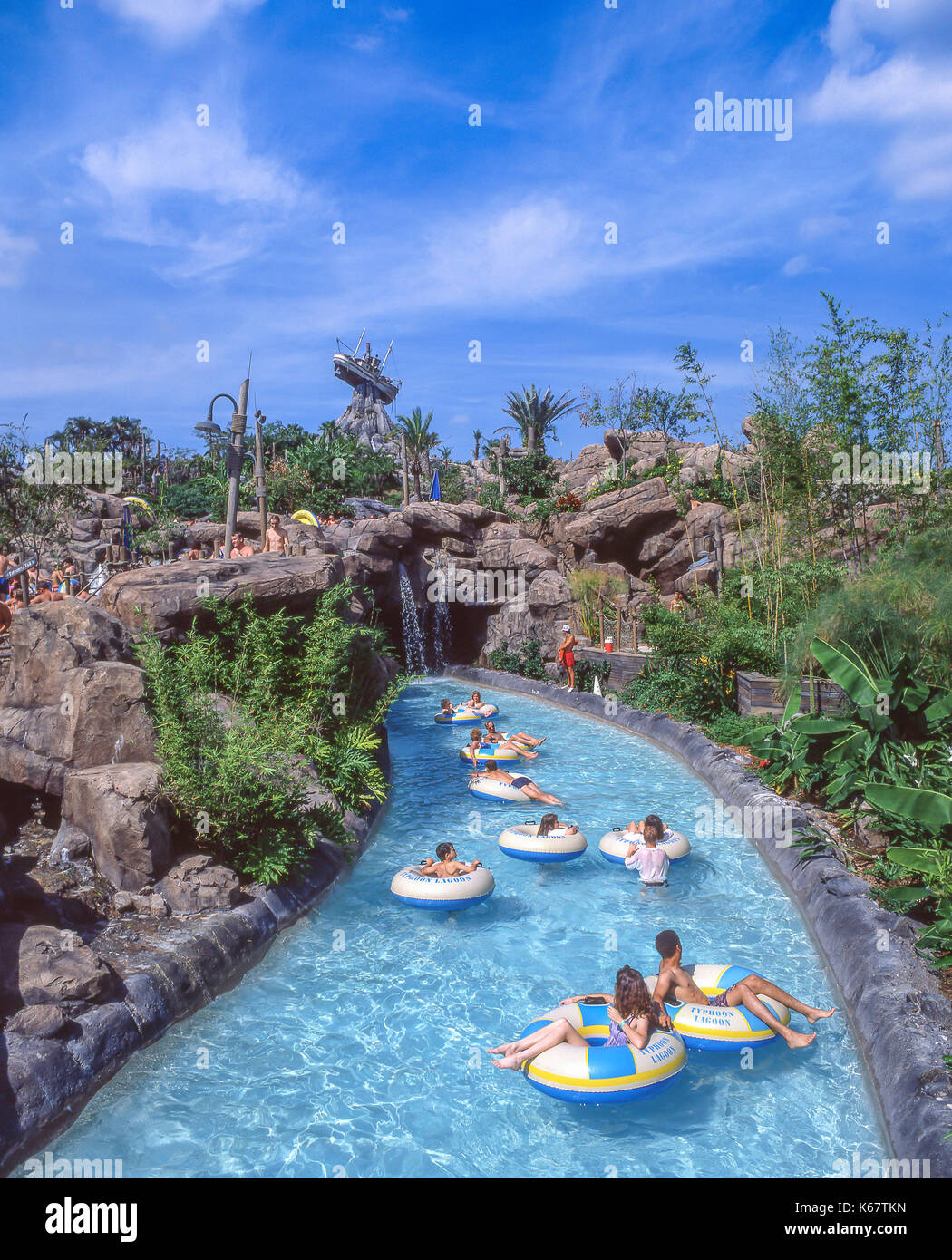 Water Ride Typhoon Lagoon Walt Disney World Orlando Florida