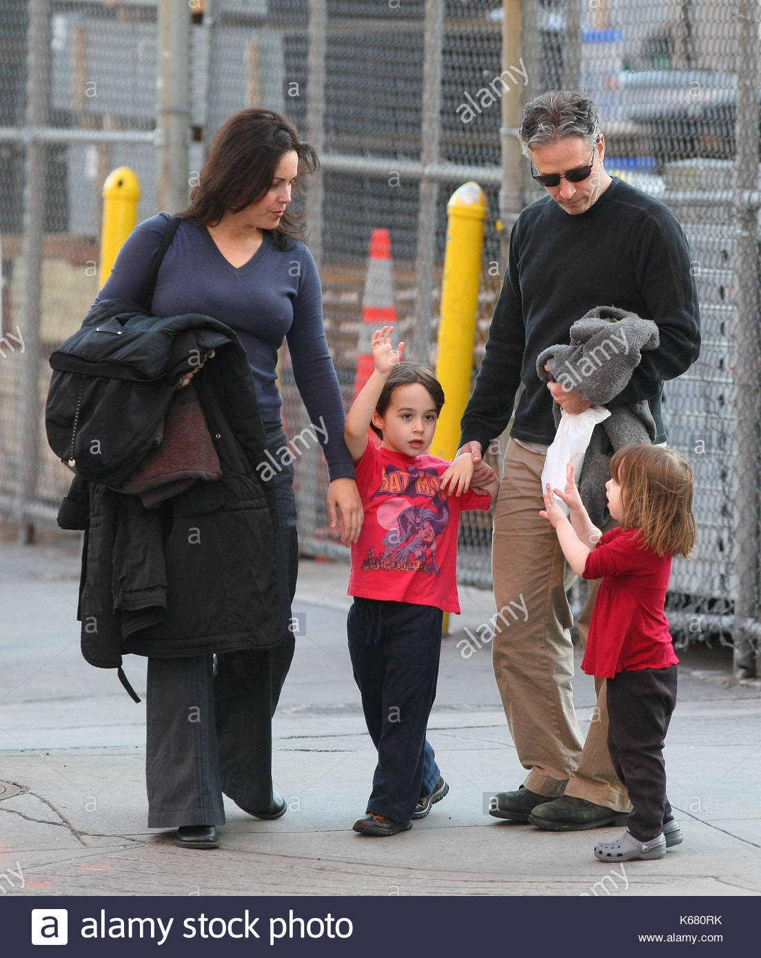 Jon Stewart Family