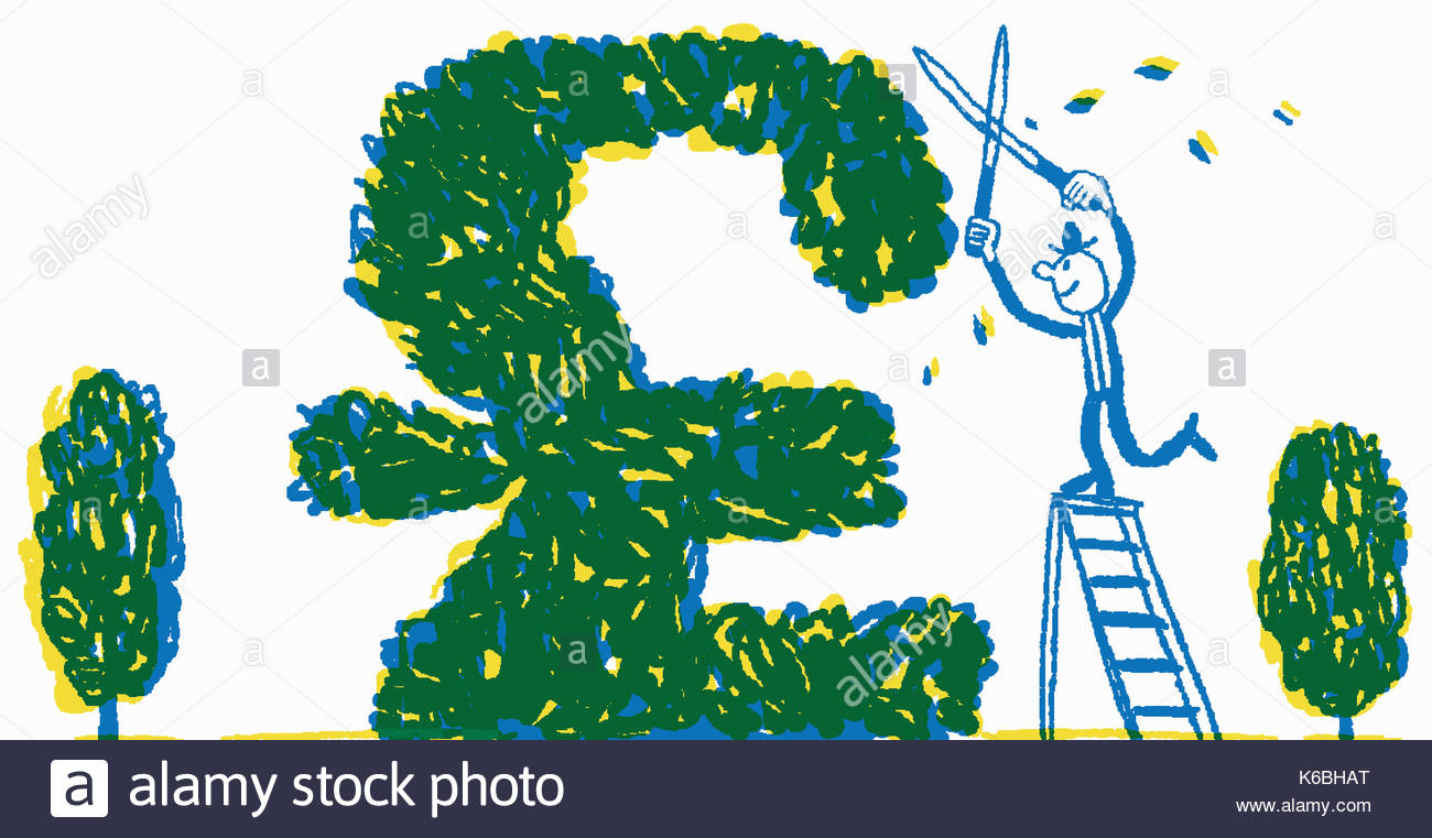 Pound sign plant stock photos pound sign plant stock images alamy happy businessman pruning bush into british pound sterling sign stock image biocorpaavc Gallery