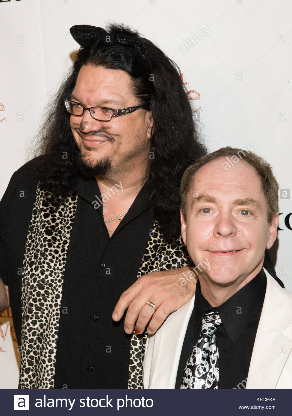 penn jillette, teller. penn jillette, teller arriving for the stock