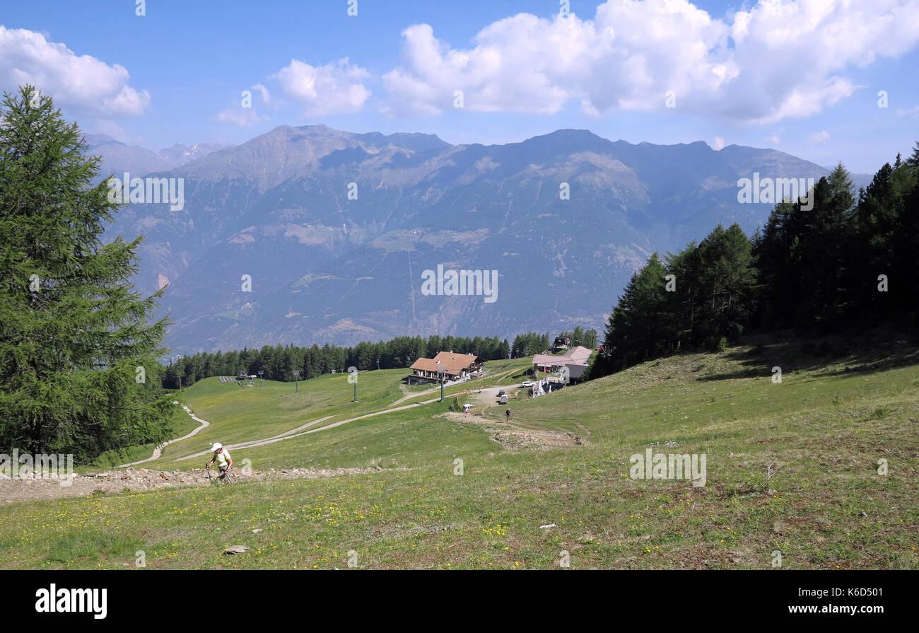 The Tarsch Alpine Pasture Around Metres Above Sea Level In - Metres above sea level
