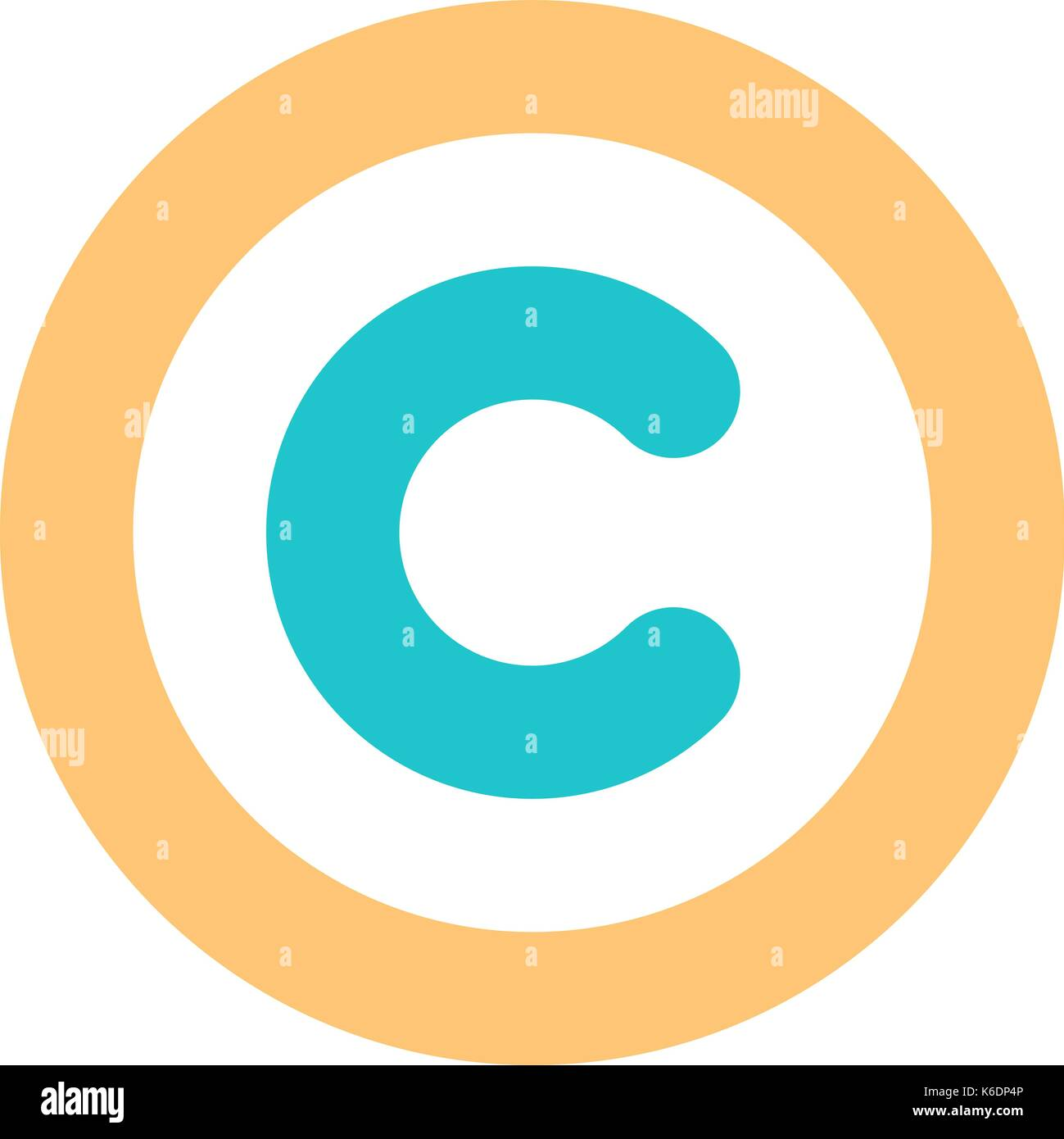 Use it in all your designs the copyright symbol or copyright sign the copyright symbol or copyright sign a circled capital letter c flat style button web internet icon vector illustrat biocorpaavc Images