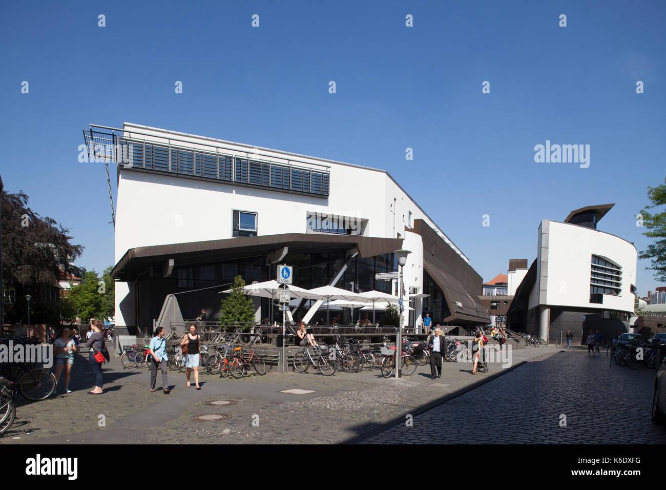 Deutschland buecherei stock photos deutschland buecherei for Moderne architektur