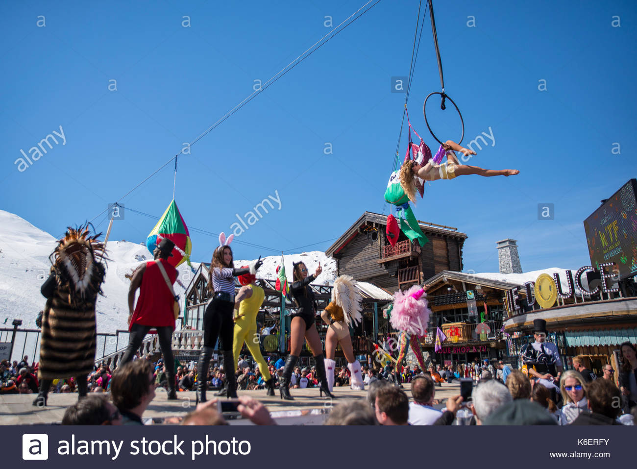 La Folie Douce Val D Isere France Stock Photo 158907055 Alamy