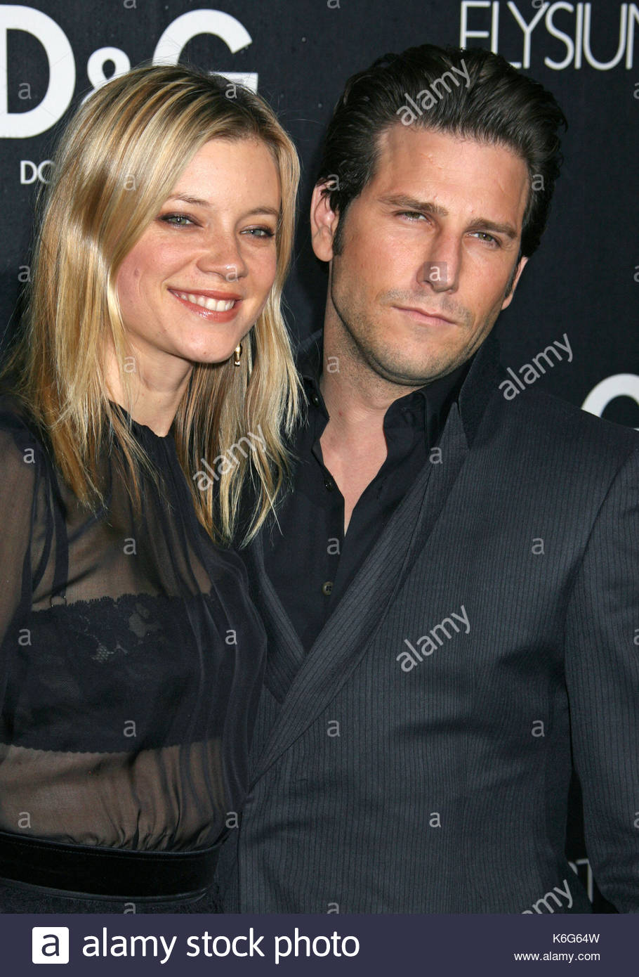 Amy Smart and Brandon Williams Amy Smart and Brandon Williams at