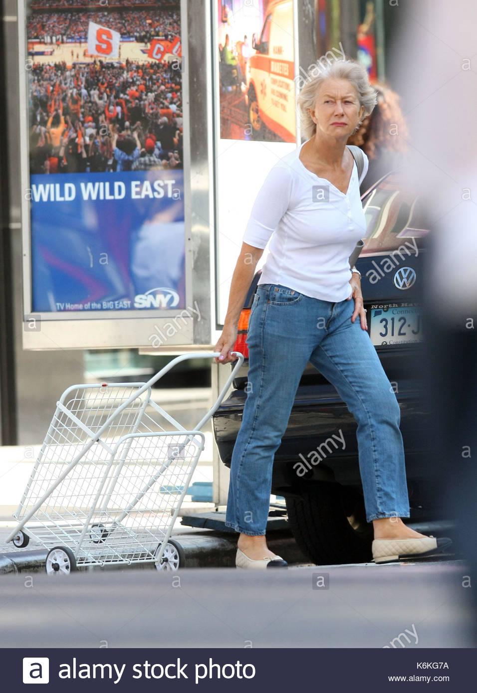 Helen Mirren ohne Make-up