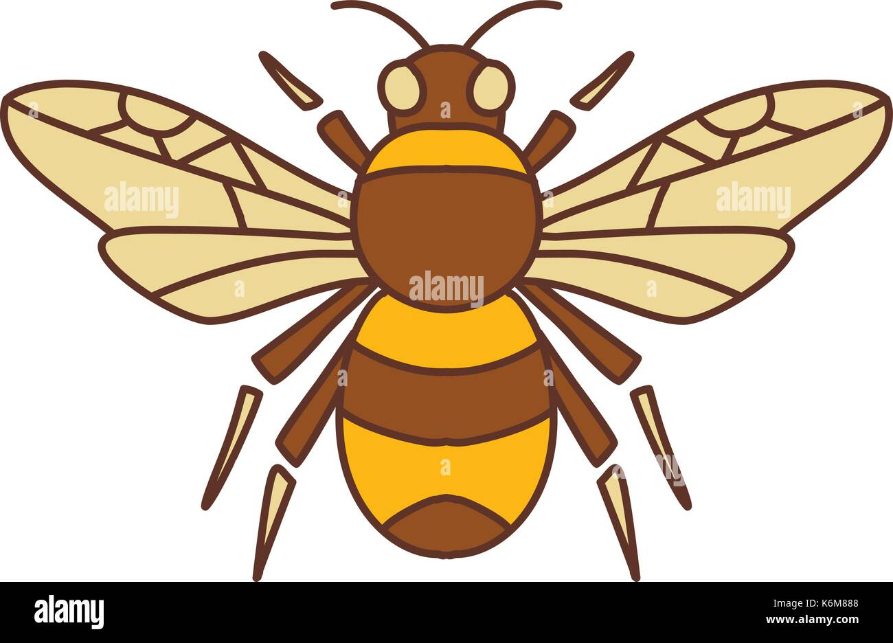 Icon style illustration of bumble bee bumblebee member of genus icon style illustration of bumble bee bumblebee member of genus bombus part of apidae with biocorpaavc