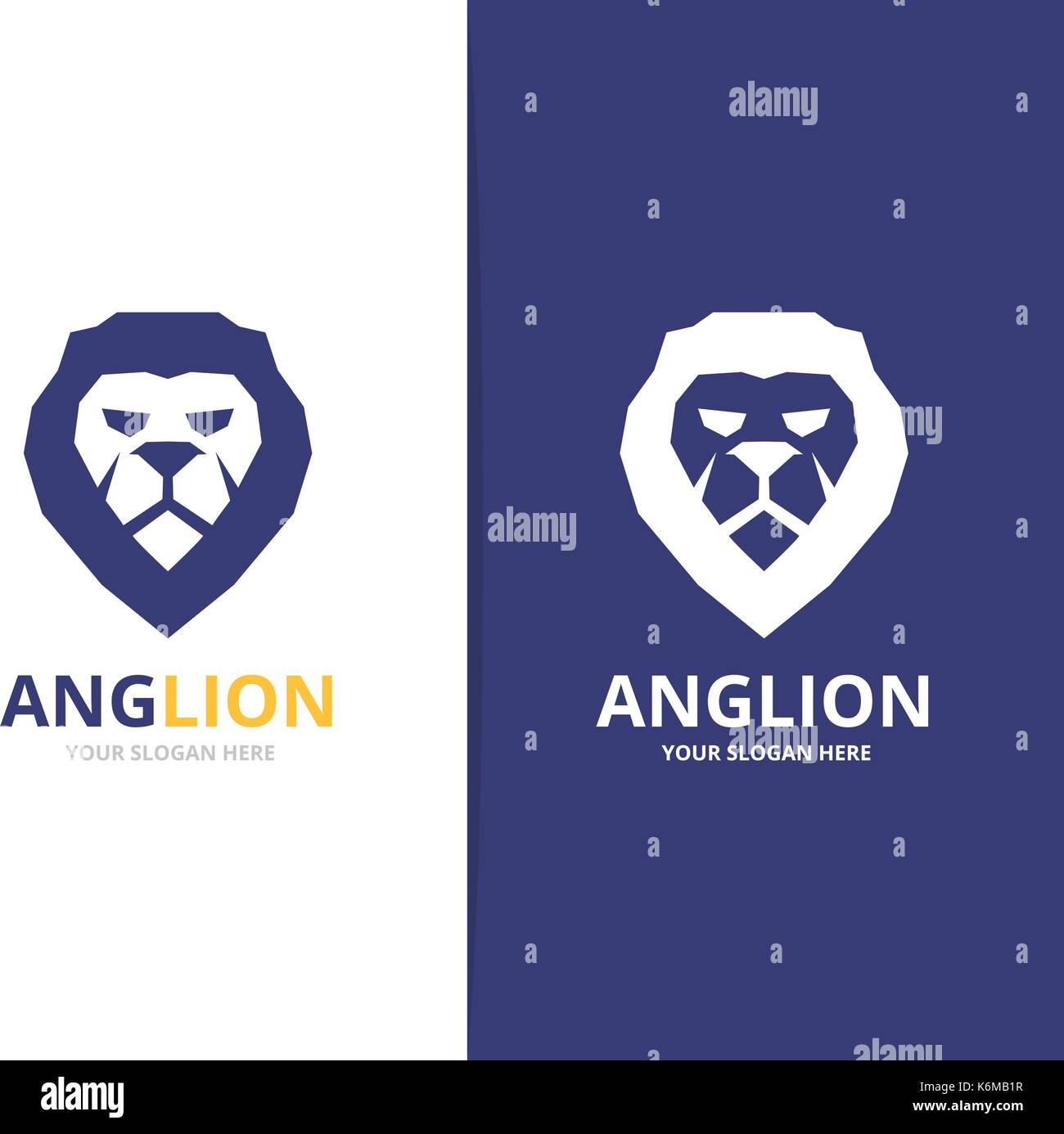 Lion logo stock photos lion logo stock images alamy vector lion logo or symbol design template stock image biocorpaavc Gallery