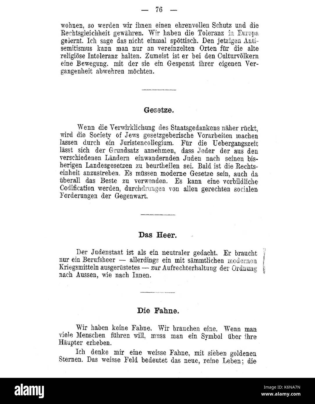 Herzl black and white stock photos images page 2 alamy de herzl judenstaat 76 stock image buycottarizona