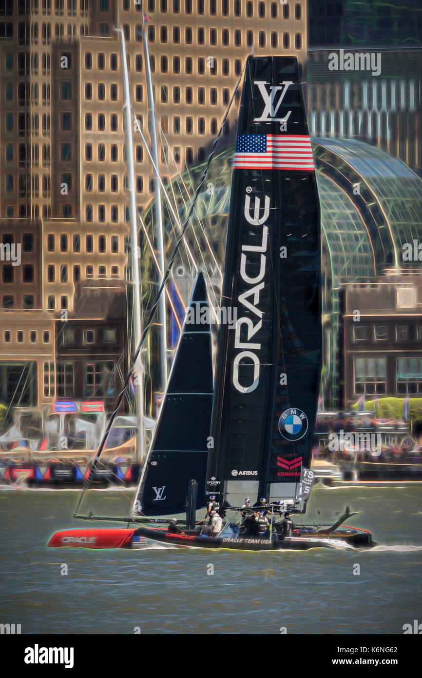 oracle team usa america u0027s cup ny oracle team usa yacht on the